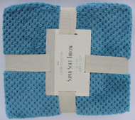 Lexton Fleece Throws (Aqua)