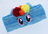 My Little Pony Girl's Knit Headband/Earmuffs (Rainbow Dash)