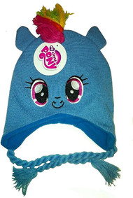 My Little Pony Rainbow Dash Mohawk Knit Hat