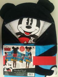 Disney Mickey Mouse Classic Hooded Bath Towel