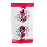 Disney Minnie Mouse White Hand Towel