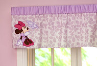 Disney Minnie Butterfly Dreams Window Valance
