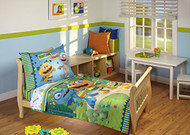 Disney Hugglemonster 4 Piece Bedding Set