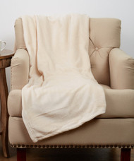 Luxe Plush Natural Throw