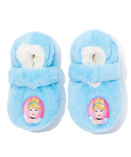 Disney Cinderella Fuzzy Slipper Socks (2T-3T)