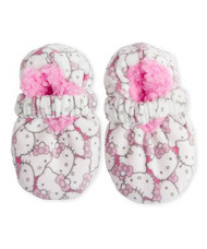 Hello Kitty Fuzzy Slipper Socks (12-24 Months)