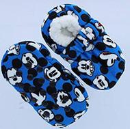 Mickey Mouse Fuzzy Slipper Socks (2T-3T)