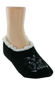 Star Wars Darth Vader Black Slipper Socks Kids (Small/Medium 8-13)