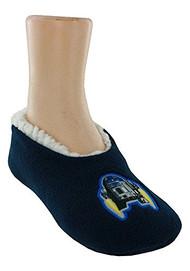 Star Wars R2D2 Dark Blue Slipper Socks (Medium/Large 13-4)