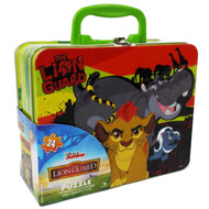 Disney Junior's The Lion Guard Puzzle in Collectible Tin Box