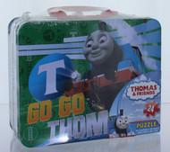 Thomas the Tank Engine Puzzle in Collectible Tin Box- Go Go Thomas