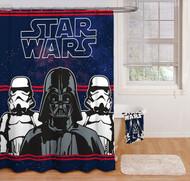 Star Wars Saga Fabric Shower Curtain