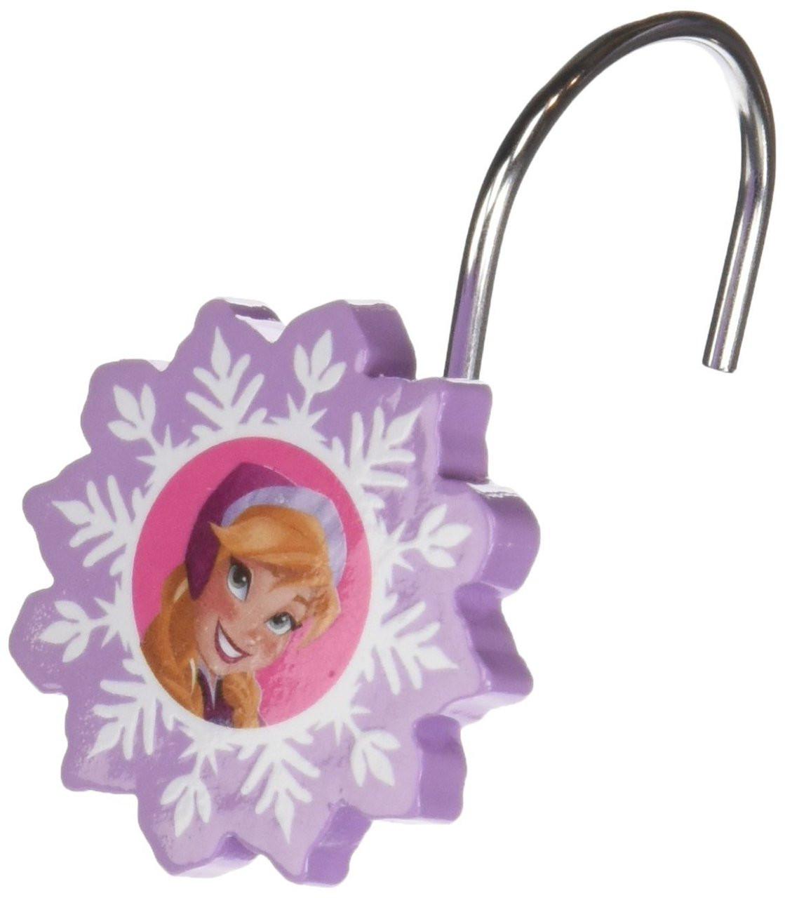 Disney Frozen Lovely Shower Curtain Hooks Image 1