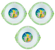 The First Years Disney Fairies Toddler Bowl - Set of 3