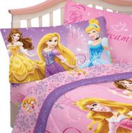 Disney Princess Sparkling Elegance Reversible Pillowcase