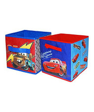 Cars Collapsible Storage Cube Set