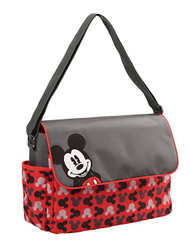 "Disney Mickey Mouse ""Toss Heads"" Diaper Bag"