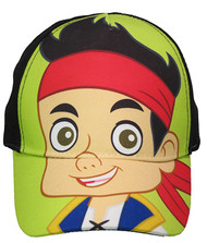 "Disney Jake & The Never Land Pirates ""Green & Black"" Baseball Cap"