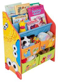 Sesame Street Book And Toy Organizer