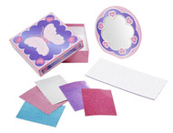 Mess-Free Glitter Treasure Box and Mirror Craft Kit