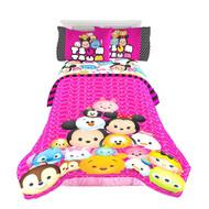"Disney Tsum Tsum ""Faces"" Twin/Full Comforter"
