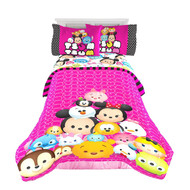 "Disney Tsum Tsum ""Faces"" Twin/Full Comforter"