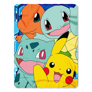 "Pokemon ""Meet the Group"" Fleece Throw"