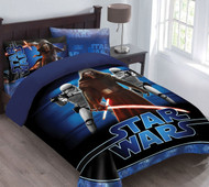 Star Wars The Force Awakens Twin Size Comforter Set