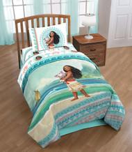 Disney Moana 'The Wave' Reversible Twin Comforter