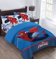 Spiderman 'Webbed Wonder' Twin Comforter Set