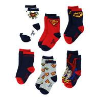 Superman Boys 6-pack Crew Socks