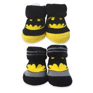 Batman 2-pack Bootie Set - Size 0-6 months