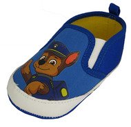 Paw Patrol Baby Blue Sole Crib Shoes