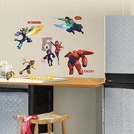 Big Hero 6 Peel and Stick Wall Decals