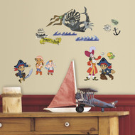 Jake & The Never Land Pirates Peel and Stick Wall Decals