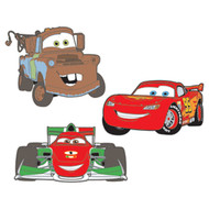 Disney/Pixar 'Cars 2' 3D Peel & Stick Foam Decor