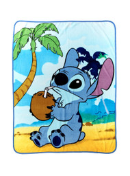 Disney Lilo & Stitch 'Coconut' Throw Blanket