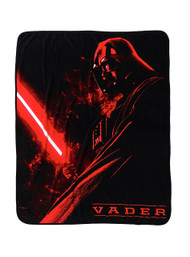 Star Wars 'Darth Vader Red' Throw Blanket