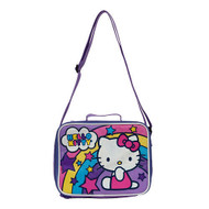 "Hello Kitty ""Rainbow Stars"" Lunch Kit with Straps"