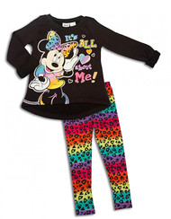 Minnie Mouse 'All About Me' Sweater and Leggings Set