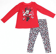 Minnie Mouse 'Girly Girl' Sweater  and Leggings Set