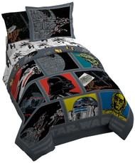 Star Wars Classic 'Death Star' Twin/Full Reversible Comforter Set