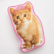 Princess Kitty Decorative Pillow