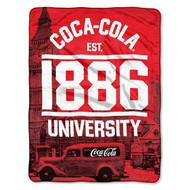 The Coca-Cola Company 'London' Throw Blanket