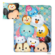 Tsum Tsum Throw Blanket and Pillow Set