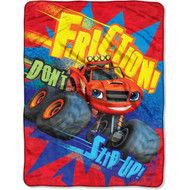 Blaze and the Monster Machines 'Friction!' Throw Blanket