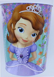 Disney Sofia the First Wastebasket - Smart Princesses Rule