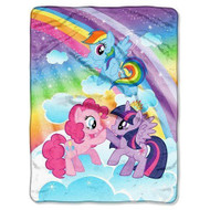 My Little Pony 'Rainbow' Throw Blanket