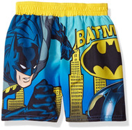 Batman Toddler 'Gotham City Batmobile' Swimming Trunks