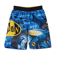 Batman Toddler 'Batcycle' Swimming Trunks